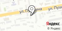 Приорирет на карте