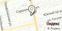 Шинная станция на карте
