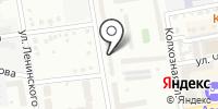Адей на карте