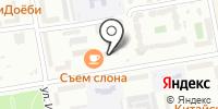 Глорис на карте