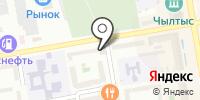 Министерство спорта на карте