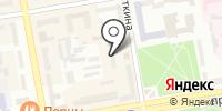 Джуниор на карте