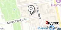 Отдел вневедомственной охраны МВД по Республике Хакасия на карте