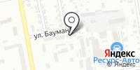 Сервисный центр на карте