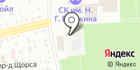 СДЮШОР по настольному теннису на карте