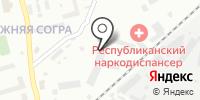 Автокар на карте