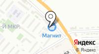 Банкомат на карте