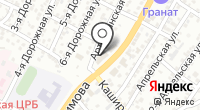Наримановский на карте