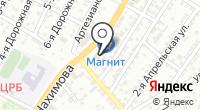 Магазин канцтоваров и сувениров на карте
