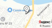 Каспиец на карте