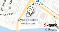 Астраханское суворовское военное училище на карте