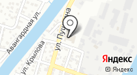 Поплавок на карте