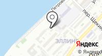 Юлиана на карте
