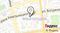 Блик на карте