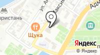 Управление судебного департамента в Астраханской области на карте