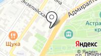 Зюйд-Вест на карте