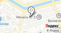 Март на карте