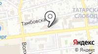 Автодозор Астрахань на карте