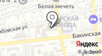 Автомойка на Бакинской на карте