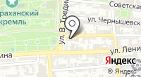 Центр занятости населения г. Астрахани на карте