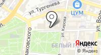 Золотая Линта на карте