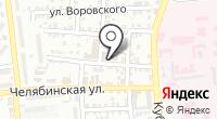 Бюро судебно-медицинской экспертизы на карте