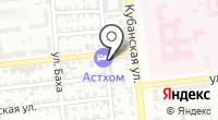 Ставропольский на карте