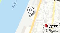 Центральный грузовой порт на карте