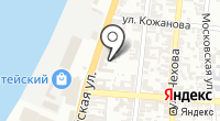 НЭК на карте