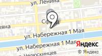 Верстка на карте