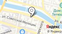 Профсоюз работников потребительской кооперации Астраханской области на карте