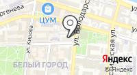 Степ на карте