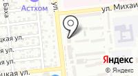 Салон-магазин постельных принадлежностей на карте