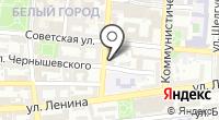 Государственный архив современной документации Астраханской области на карте