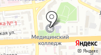 Астраханский базовый медицинский колледж на карте
