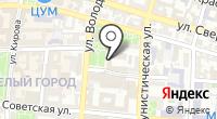 Астраханская государственная филармония на карте