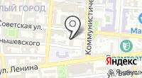 Избирательная комиссия Астраханской области на карте