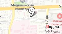 КМС-АСТ на карте
