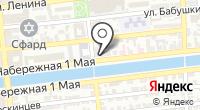 Михайловский на карте
