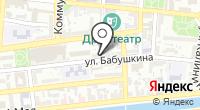 Олеандр на карте