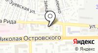Гавриш-Астрахань на карте