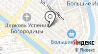 Магазин товаров для новорождённых на карте