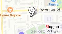 Продовольственный магазин на Космонавтов 8 к3/1 на карте