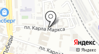 Парикмахерская на карте