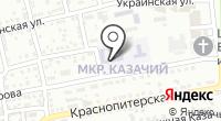 Средняя общеобразовательная школа №66 на карте