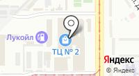 Сеть магазинов дисков на карте