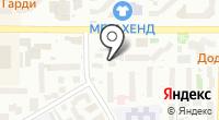 Тверская на карте