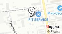 Арсенал РТИ на карте