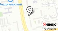 Малина на карте
