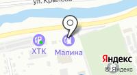 АЗС Малина на карте
